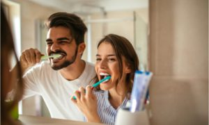 daily brushing to prevent periodontal disease