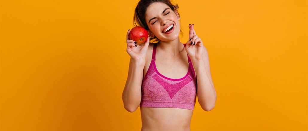 The woman will try to improve her diet and exercise.