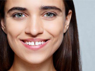 beautiful gap teeth